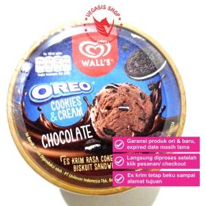 Harga es krim walls oreo cookies cream coklat 410 | HARGALOKA.COM