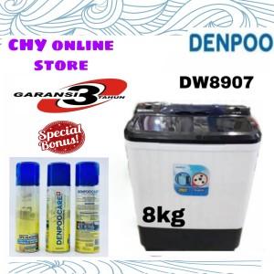 Harga denpoo mesin cuci dw 8907 4p 8kg 2   HARGALOKA.COM