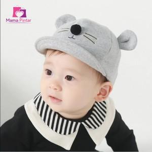 Harga topi bayi newborn lucu amp imut laki laki perempuan motif kucing   | HARGALOKA.COM