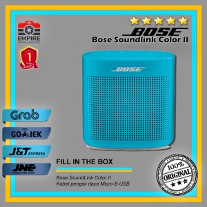 Harga bose soundlink color 2 ii bluetooth speaker original   aquarius | HARGALOKA.COM
