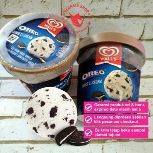 Harga es krim walls selection oreo cream 410 | HARGALOKA.COM