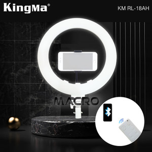 Harga ringlight 15 inch kingma with remote bluetooth connect to | HARGALOKA.COM