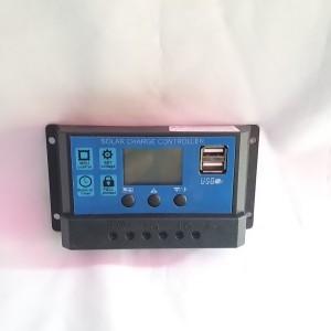 Harga solar charge controller 20 amper 12v 24v panel surya   HARGALOKA.COM