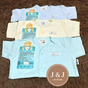 Harga baju bayi polos merk libby tangan pendek 3 6 month   HARGALOKA.COM
