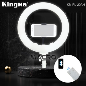 Harga ringlight 20 inch kingma with remote bluetooth connect to | HARGALOKA.COM