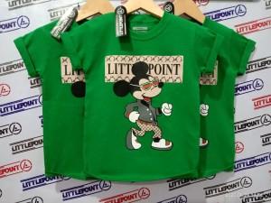 Harga baju anak karakter hijau daun mickey   s hiaju   HARGALOKA.COM