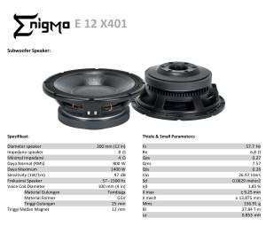 Harga enigma   12 x401   speaker component 12   HARGALOKA.COM