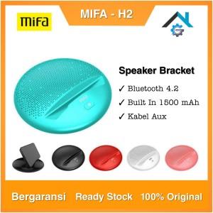 Harga mifa h2 portable bluetooth speaker stereo bracket for mobile garansi     HARGALOKA.COM