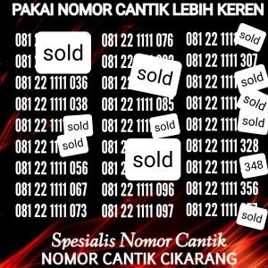 Harga nomor cantik simpati kwartet 1111 murah kartu perdana telkomsel | HARGALOKA.COM