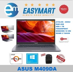 Harga laptop asus m409da   athlon 3050u   4gb   1tb   vega 3   14 34   win10   30502t | HARGALOKA.COM