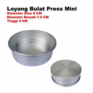 Harga loyang bulat mini 8 cm loyang bolu mini cetakan | HARGALOKA.COM