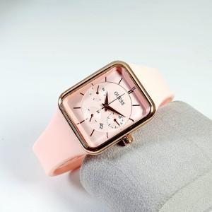 Harga jam tangan wanita guess tanggal aktif free katru garansi terlaris   merah   HARGALOKA.COM