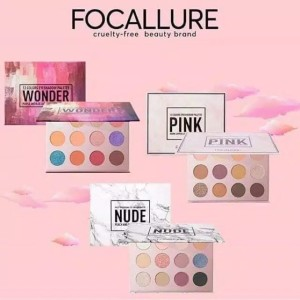Harga focallure 12 colors eyeshadow palette original bpom eye shadow   01 | HARGALOKA.COM