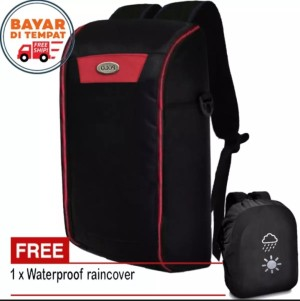 Harga tas polo pria tas ransel 2 in 1 tabung tas kuliah sekolah | HARGALOKA.COM