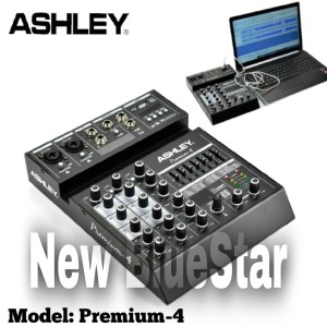Harga mixer ashley premium 4 original 4 channel bluetooth with | HARGALOKA.COM