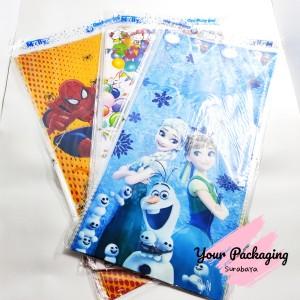 Harga plastik ulang tahun kecil 18x35cm ultah kecil karakter snack   | HARGALOKA.COM