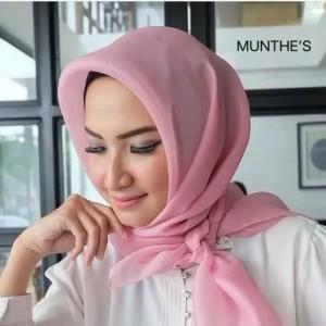 Harga hijab jilbab organza premium silk | HARGALOKA.COM