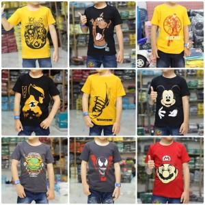 Harga kaos baju anak laki laki murah superhero wolverine mustard 1 8 tahun   s 1 2 thn sesuai | HARGALOKA.COM