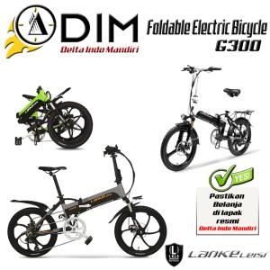 Harga sepeda lipat listrik lankeleisi g300 smart hybrid electric moped | HARGALOKA.COM