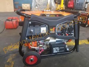 Harga genset bensin 2500 watt   2800 watt electric stater korobe kg 2800 | HARGALOKA.COM