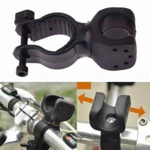 Harga bicycle bracket mount holder for flashlight senter lampu | HARGALOKA.COM