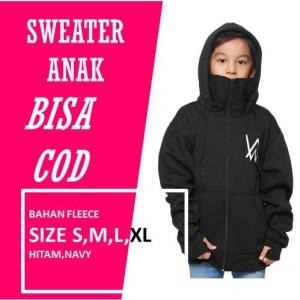 Harga jaket anak laki laki alan walker ninja   hitam | HARGALOKA.COM