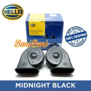 Harga klakson keong hella hitam untuk mobil motor 12v original sepasang | HARGALOKA.COM