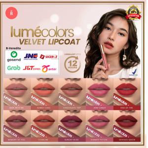 Harga lumecolors lipstik lipcoat lip matte korea long lasting tahan lama   sunset | HARGALOKA.COM