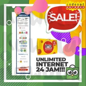 Harga 7gb perdana unlimited paket data internet indosat apps 7 | HARGALOKA.COM
