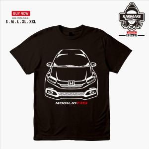 Harga kaos baju mobil honda mobilio rs facelift kaos otomotif   | HARGALOKA.COM