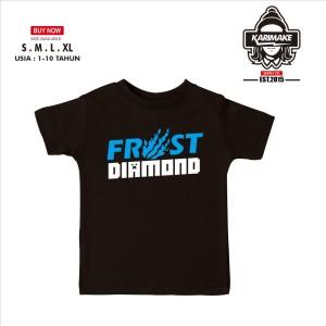 Harga kaos baju anak frost diamond simple logo kaos game   | HARGALOKA.COM