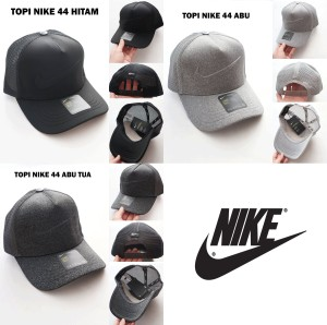 Harga topi pria nike 44 unisex golf baseball casual distro cowok trucker cap   | HARGALOKA.COM