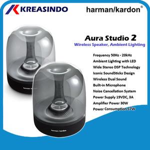 Harga harman kardon aura studio 2 wireless buetooth speaker garansi resmi     HARGALOKA.COM