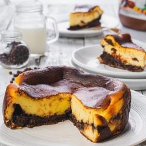 Harga basque burnt cheese cake nutella kue ulang tahun dan hari raya   15 | HARGALOKA.COM
