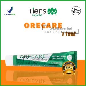 Harga odol herbal pasta gigi orecare penghilang karang gigi 1 tube | HARGALOKA.COM