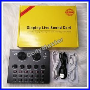 Harga sound card v8 mixer bluetooth soundcard v8 audio soundcard | HARGALOKA.COM