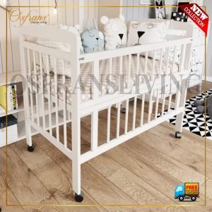 Harga ranjang bayi baby box kayu   baby florencia tanpa kelambu   tanpa | HARGALOKA.COM