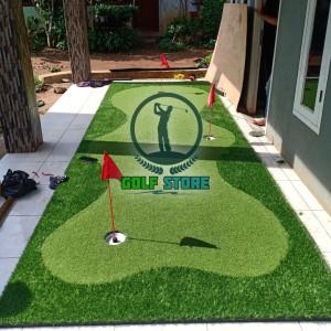 Harga paket lapangan mini putting green golf 400 100 cm stick stik | HARGALOKA.COM