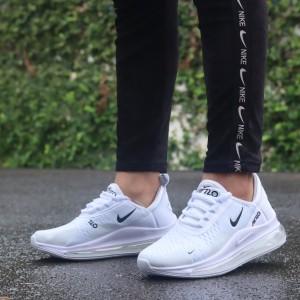 Harga sepatu sneakers nike airmax 720 wanita   all white | HARGALOKA.COM