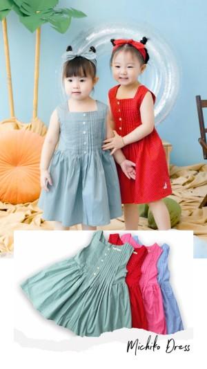Harga michiko dress   s merah | HARGALOKA.COM