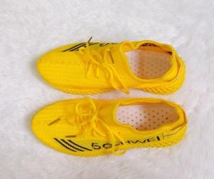 Harga sepatu sneakers model korea terbaru wanita 5g hwei import keren ori   merah muda | HARGALOKA.COM