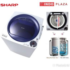 Harga mesin cuci 1 tabung 8 kg 8kg sharp   HARGALOKA.COM