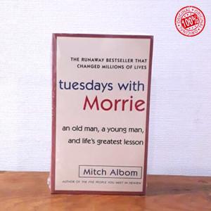 Harga buku import tuesday with morrie mitch albom   HARGALOKA.COM