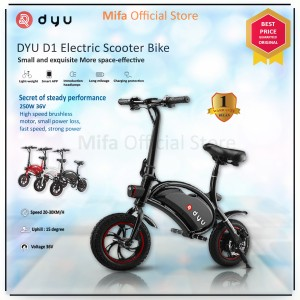 Harga sepeda skuter listrik dyu d1 electric scooter bike alt xiaomi himo   | HARGALOKA.COM