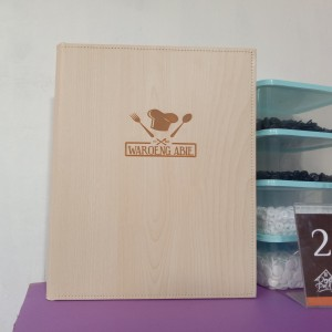 Harga buku menu cafe logo di lsaer bahan | HARGALOKA.COM