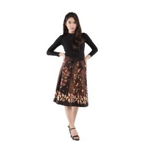 Harga rok lilit dinda rok batik bawahan batik batik exclusive   hitam all | HARGALOKA.COM