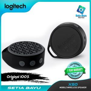 Harga speaker bluetooth logitech x50 mobile wireless speaker system speaker   | HARGALOKA.COM