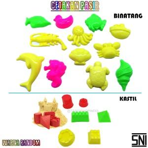 Harga mainan anak cetakan kecil pasir ajaib     HARGALOKA.COM
