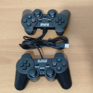 Harga stik ps pc   joystick pc gamepad game pad double usb m tech | HARGALOKA.COM