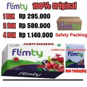 Harga buka 24 jam flimty fiber 2 box 32 sachets pelangsing ampuh halal | HARGALOKA.COM